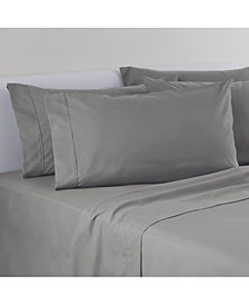 IZOD Solid Microfiber 6-Pc King Sheet Set