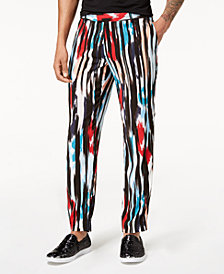 Mr. Turk x  I.N.C. Men's Cropped Ikat Pants, Created for Macy's