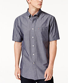 Tommy Hilfiger Men's Davy Striped Shirt, Created for Macy's