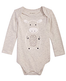 First Impressions Baby Boys or Baby Girls Graphic-Print Bodysuit, Created for Macy's