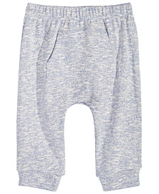 First Impressions Baby Boys or Baby Girls Pocket Jogger Pants, Created for Macy's
