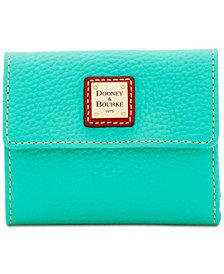 Dooney & Bourke Pebble Small Flap Wallet