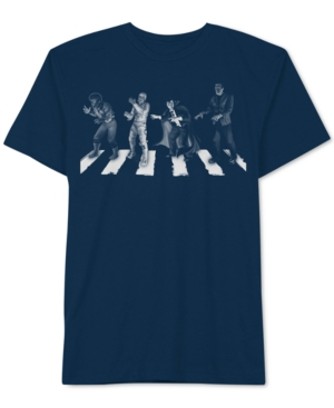 Universal Studios Men's Spooky Road Glow in the Dark T-Shirt