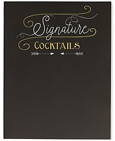 Cathy's Concepts Cocktail Menu Chalkboard