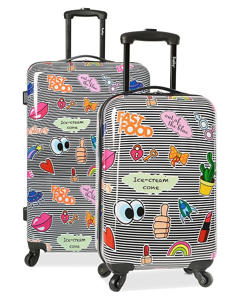 Wembley Live It Up Ice Cream Hardside Luggage Collection