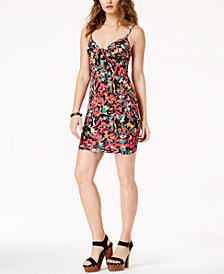 GUESS Lucid Jungle Adjustable Slip Dress
