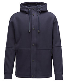 BOSS Men's Relaxed-Fit Cotton Jacket