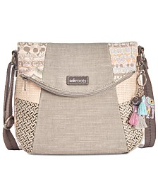Sakroots Foldover Canvas Crossbody
