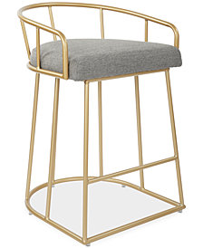 Vahan 26'' Counter Stool, Quick Ship
