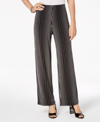 Printed Wide-Leg Pants, Created for Macy's