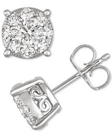 Diamond Stud Earrings (3/4 ct. t.w.) in 14k Gold