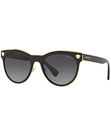 Versace Polarized Sunglasses, VE2198 54, Created for Macy's