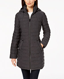Nautica Packable Hooded Puffer Coat
