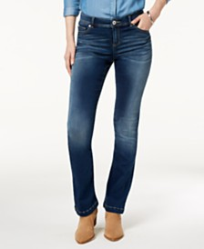 e3bc450f224dd INC International Concepts I.N.C. Curvy-Fit Bootcut Jeans