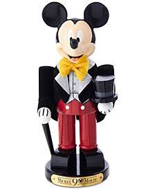 Kurt Adler Hollywood Mickey in Tux 90th Birthday Nutcracker