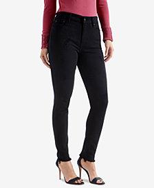 Lucky Brand Bridgette Frayed-Hem Skinny Jeans