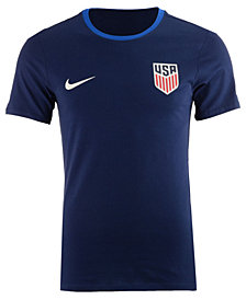 Nike Men's USA National Team Crest Ringer T-Shirt