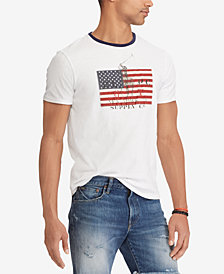 Polo Ralph Lauren Men's Big & Tall Flat Print Classic Fit T-Shirt