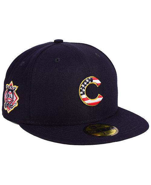 fe9486f98d5 Chicago Cubs Stars and Stripes 59FIFTY Fitted Cap. Be the first to Write a  Review. main image  main image ...