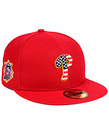 New Era Boys' Philadelphia Phillies Stars and Stripes 59FIFTY Fitted Cap