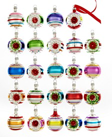 Set of 24 Early Years Mini Ball Ornaments