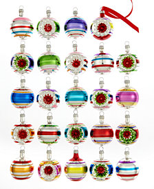 Kurt Adler Set of 24 Early Years Mini Ball Ornaments