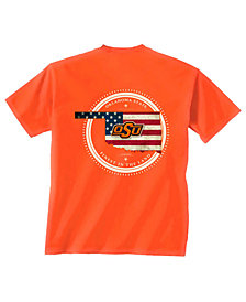 New World Graphics Men's Oklahoma State Cowboys Flag Fill T-Shirt