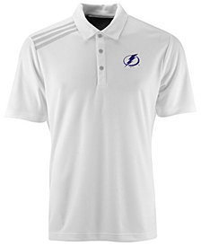 adidas Men's Tampa Bay Lightning 3 Stripe Polo