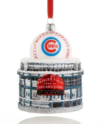 Kurt Adler Chicago Cubs Wrigley Field Ornament - Holiday Lane ...