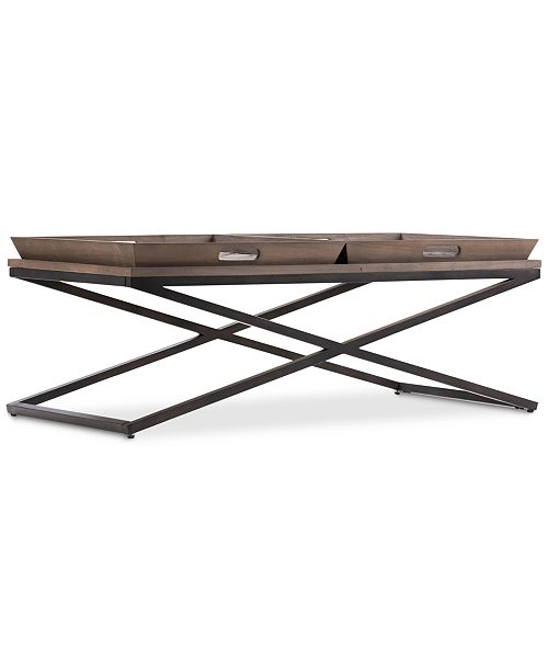 Simpli Home CLOSEOUT! Alee Coffee Table