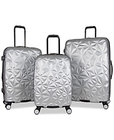 Geo Edge 3-Pc. Hardside Luggage Set