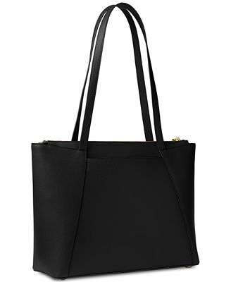 Michael Kors Maddie hammered leather tote QGXFno