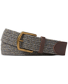 Polo Ralph Lauren Men's Braided Stretch Belt