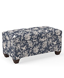 Martha Stewart Collection™ Bedford Collection Lawrence Storage Bench, Quick Ship, Created For Macy's