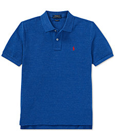 Polo Ralph Lauren Big Boys Cotton Mesh Polo