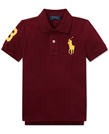 Polo Ralph Lauren Little Boys Cotton Mesh Polo