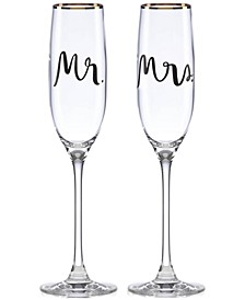 Bridal Party Mr. & Mrs. Flute Pair