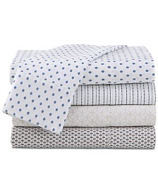 Under The Canopy Printed Brushed Sheet Sets
