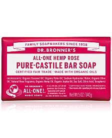 Dr. Bronner's Rose Pure-Castile Bar Soap