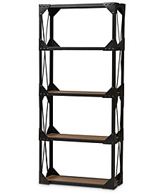 Gratianne Tall Shelving Unit, Quick Ship