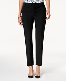Petite Slim-Leg Ankle Pants, Created for Macy's