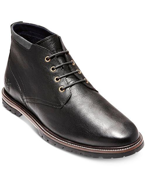 a0b473e4cd Cole Haan Men's Ripley Grand Chukkas & Reviews - All Men's Shoes ...