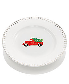 Martha Stewart Collection Truck Salad Plate, Created for Macy's