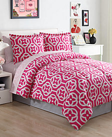 Meili 8-Pc. King Comforter Set