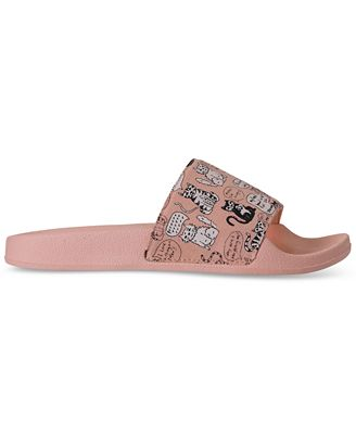 Skechers Women's Bobs Pop-Ups - Cat Chat Bobs for Dogs Slide Sandals from Finish Line