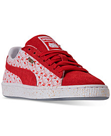 Puma Women's x HELLO KITTY Suede Classic Casual Sneakers from Finish Line