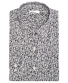 Bar III Men's Slim-Fit Stretch Easy-Care Dandy Floral Dress Shirt, Created For Macy's