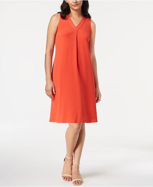 Alfani Petite A Line Dress Created For Macys Dresses Petites