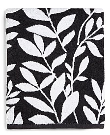 CLOSEOUT! Charter Club Elite Fashion Leaves Cotton Bath Towel, Created for Macy's