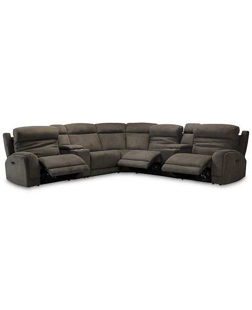 Winterton 7 Pc Fabric Sectional Sofa